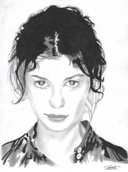 Audrey Tautou par espoirduportrait